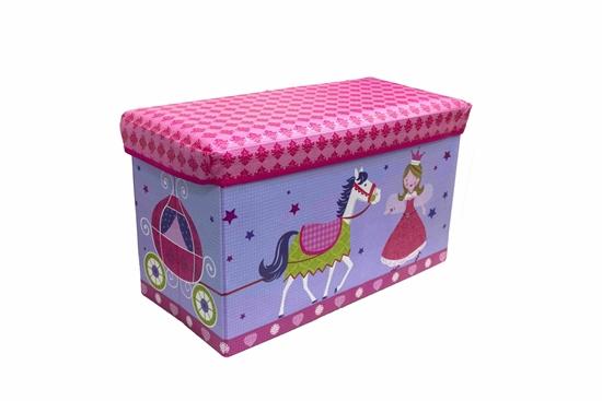 صورة صندوق تخزين للأطفال - 60 × 30 × 35 سم