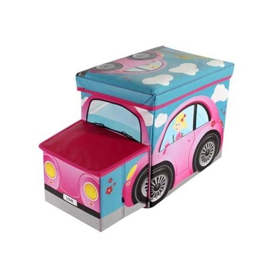 صورة صندوق تخزين للأطفال - 55 × 26 × 33 سم