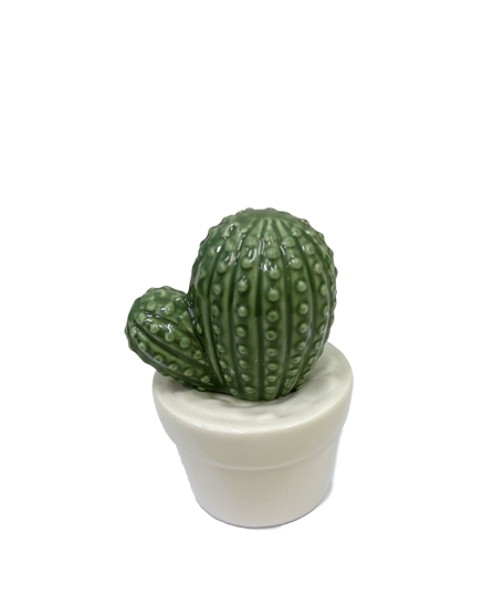 Picture of Ceramic Cactus Potted Plants - 10 x 7 Cm