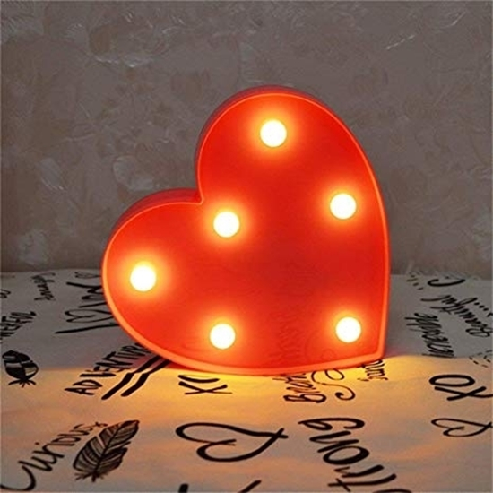 Picture of LED Night Light Heart - 23 x 22 x 3 Cm