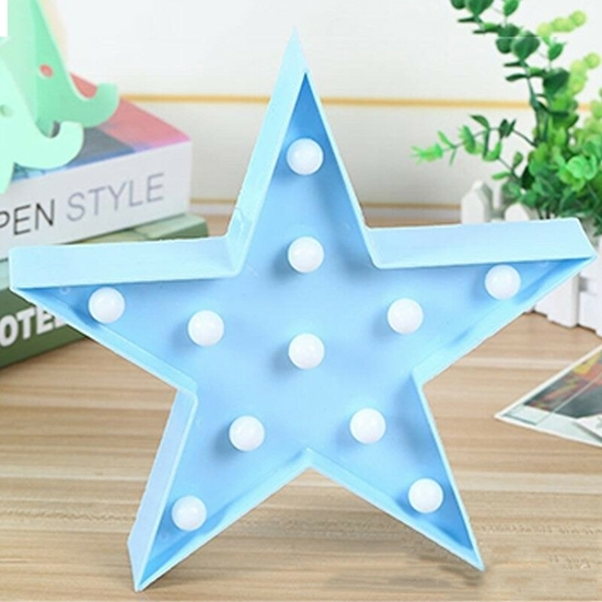Picture of LED Night Light Star - 25 x 27 x 5 Cm