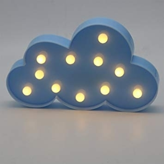 Picture of LED Night Light Cloud - 29 x 18 x 3 Cm