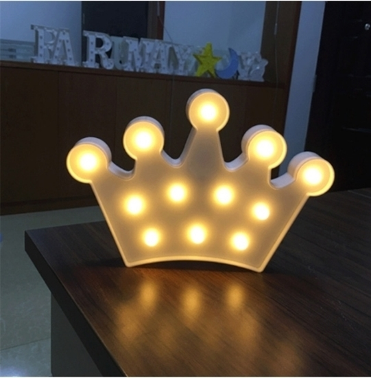 Picture of LED Night Light Crown - 27 x 17 x 3 Cm