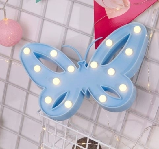 Picture of LED Night Light Butterfly - 26 x 16 x 3 Cm