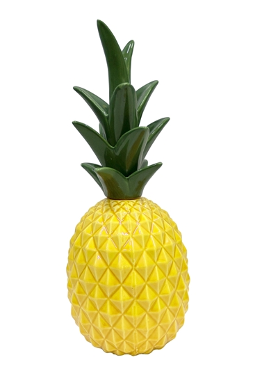 Picture of Ceramic Pineapple Decorative Décor - 30 x 10 Cm