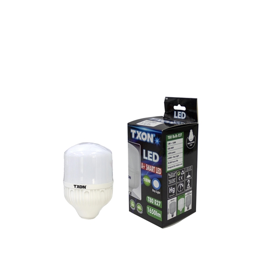 صورة TXON Light Bulb - T80 E27 18W DL 1650LM