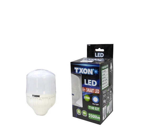 صورة TXON Light Bulb - T100 E27 27W DL 2500LM