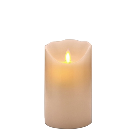 Picture of Led Battery Candle Moving Flame - 10 x 7 Cm