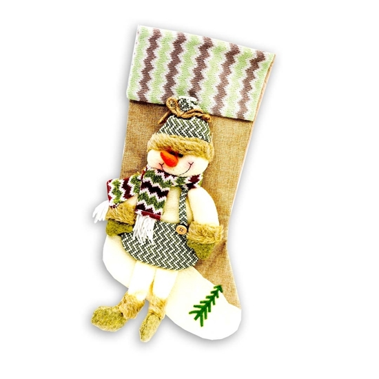Picture of Christmas Hanging Socks - 45 x 23 Cm
