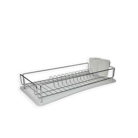 صورة Stainless Steel Dish Drainer - 10 x 20 Cm