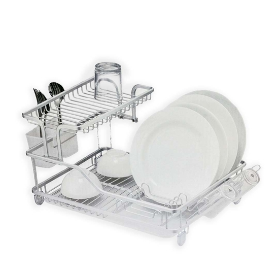 Picture of Stainless Steel Dish Drainer - 57.9 x 35 x 27.3 Cm