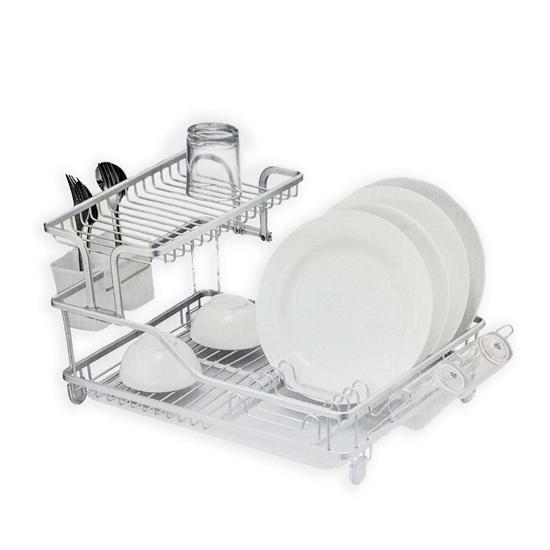 صورة Stainless Steel Dish Drainer - 57.9 x 35 x 27.3 Cm