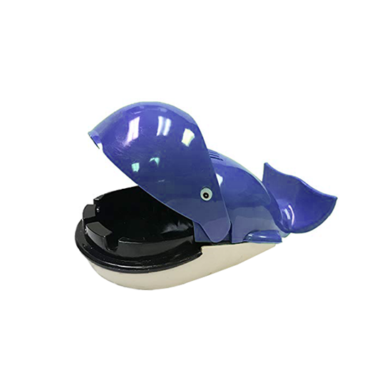 Picture of Plastic Whale Shaped Ashtray - 19 x 9 x 7 Cm