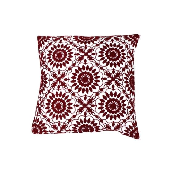صورة غطاء وسادة ملّون قياس 45 × 45 سم