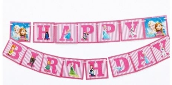 Picture of Party Banner ELSA - 16 Cm