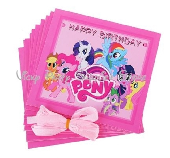 Picture of Party Banner MY LITTLE PONY - 16 Cm