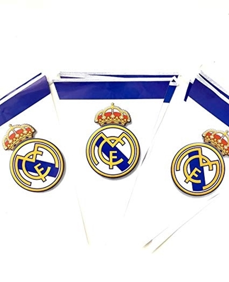 صورة Party Banner REAL MADRID - 28 x 20 Cm