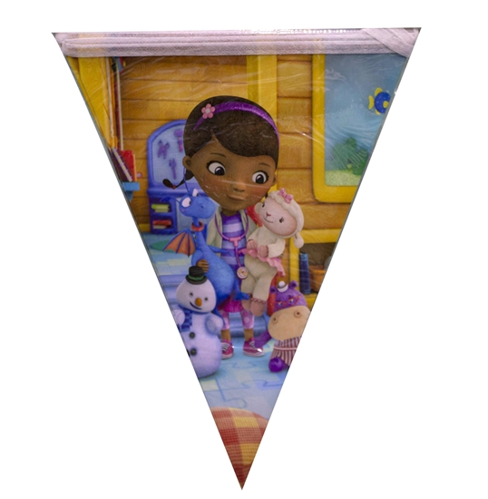 Picture of Party Banner DOC MCSTUFFINS - 28 x 20 Cm