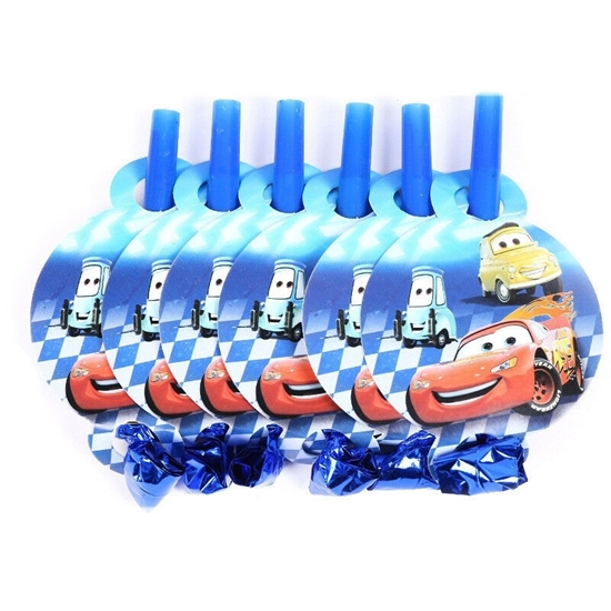 Picture of Blow Outs MCQUEEN CAR 10 PCS - 25 Cm