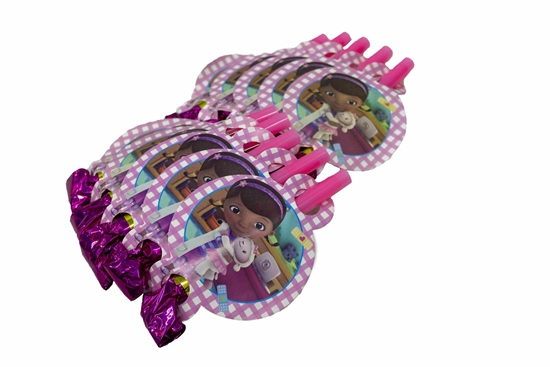 Picture of Blow Outs DOC MCSTUFFINS 10 PCS - 25 Cm