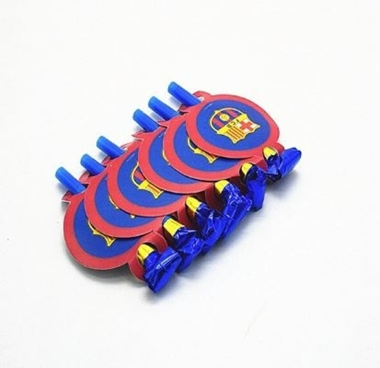 Picture of Blow Outs BARCELONA 10 PCS - 25 Cm