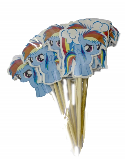 Picture of Cake Toppers MY LITTLE PONY 10 PCS - 9 Cm