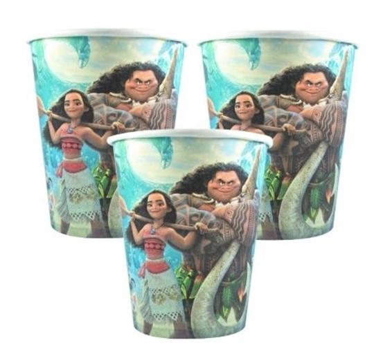 صورة Paper Cup MOANA 10 PCs - 8.2 x 7.2 Cm