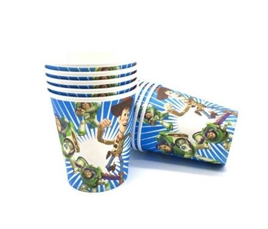 Picture of Paper Cup TOY STORY BUZZ 10 PCs - 8.2 x 7.2 Cm