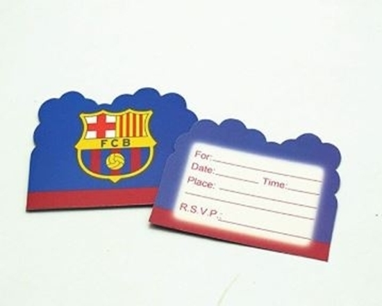 Picture of Invitation Cards BARCELONA 10 PCs - 14 x 11 Cm