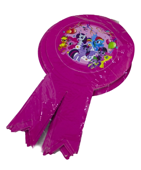 Picture of Party Badge MY LITTLE PONY 10 PCS - 15.5 x 9 Cm