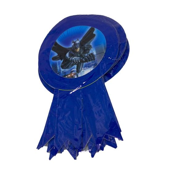 صورة Party Badge BATMAN 10 PCS - 15.5 x 9 Cm