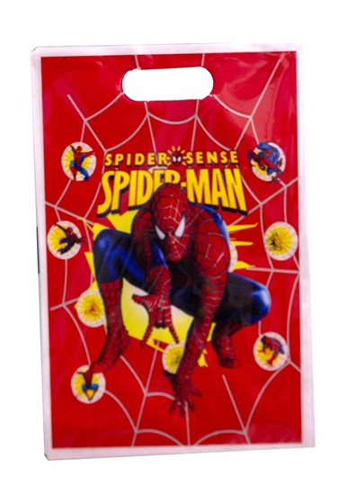 Picture of Party Bag SPIDERMAN 10 PCS - 25 x 16 Cm