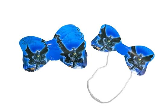 صورة Bow Tie BATMAN 10 PCs - 14 x 6.5 Cm
