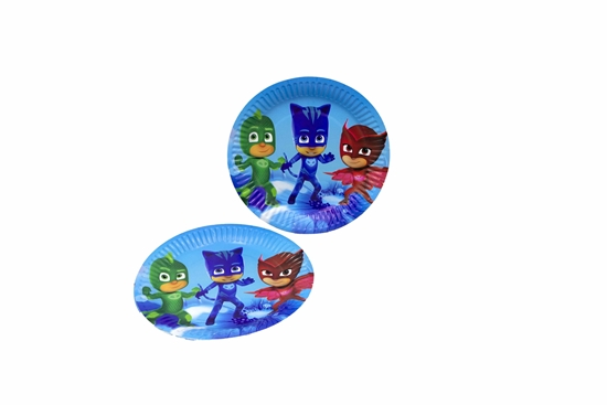 Picture of Paper Plate PJ MASK 10 PCs - 18 Cm