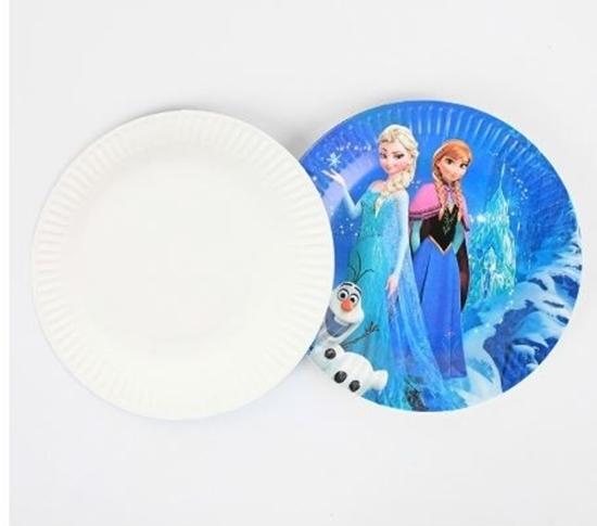 Picture of Paper Plate FROZENI 10 PCs - 18 Cm