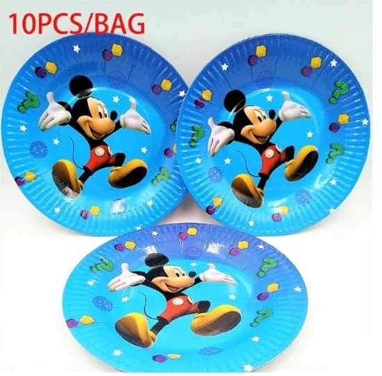 Picture of Paper Plate MICKEY 10 PCs - 18 Cm