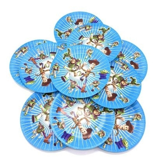 Picture of Paper Plate TOY STORY BUZZ 10 PCs - 18 Cm