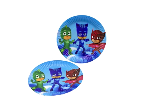 Picture of Paper Plate PJ MASK 10 PCs - 23 Cm