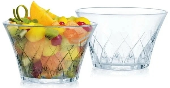 Picture of Luminarc Swivel Salad Bowl Set of 3 - 10 Cm