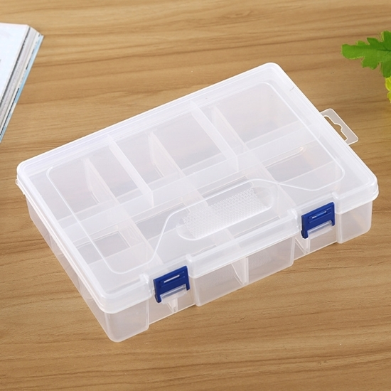 صورة Transparent Medicine Box - 23 x 16 x 5.8 Cm