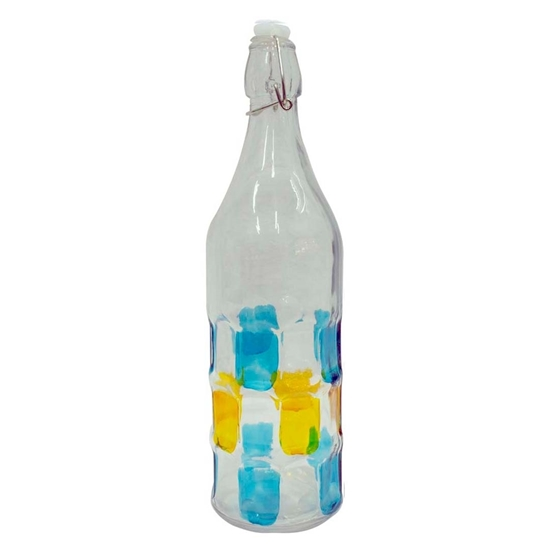 Picture of Flip Top Glass Bottle - 27 x 6.5 Cm