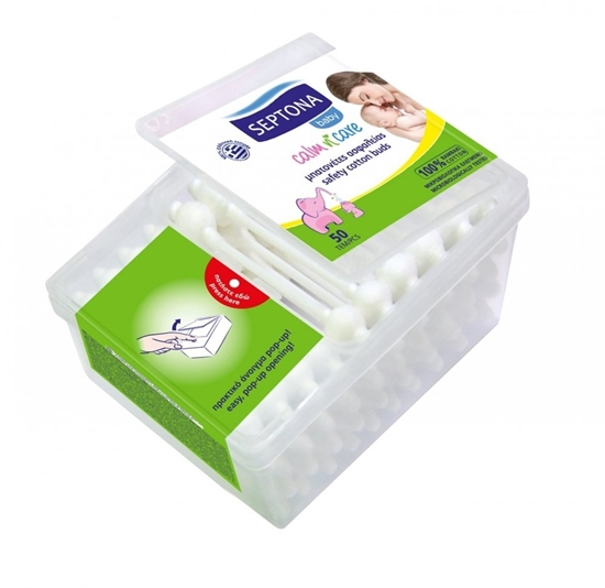 Picture of Septona - Safety Cotton Buds Baby - 50 PCs