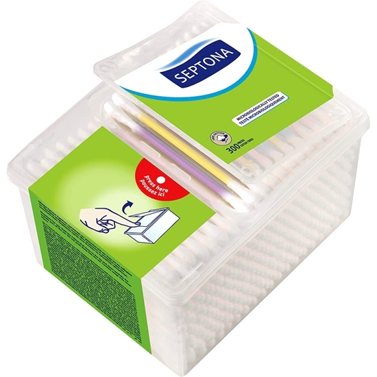 Picture of Septona - Cotton Buds ( 300 PCs) - Drum