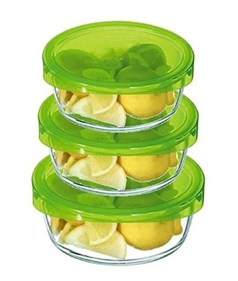صورة Luminarc - Keep N' Box Round Container - Set of 3