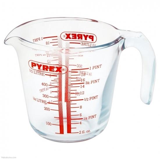 صورة Pyrex - Classic Glass Measuring Jug - 0.5 L (Clear)