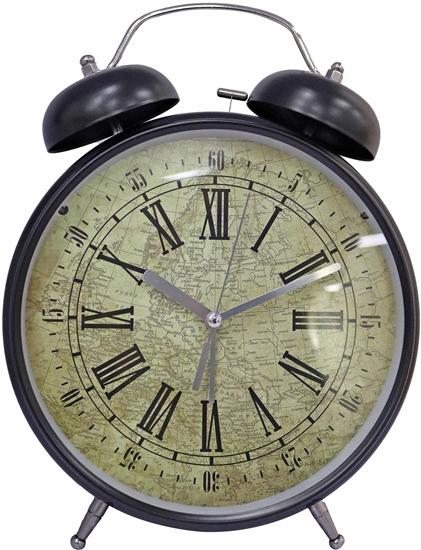 صورة ساعة منبه دائرية الشكل