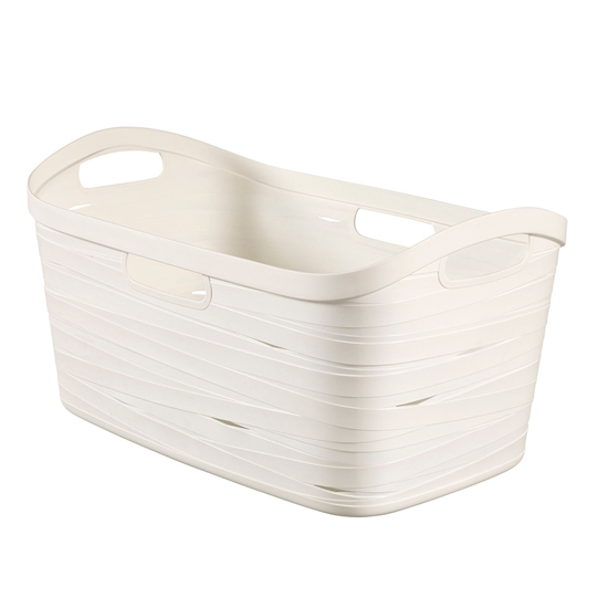 صورة Curver - Laundry Basket Ribbon 40 L - 56 x 35 x 29 Cm
