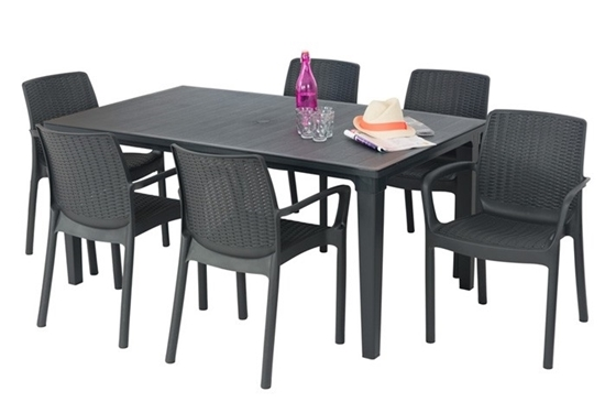 Picture of Futura Table + 6 Chairs