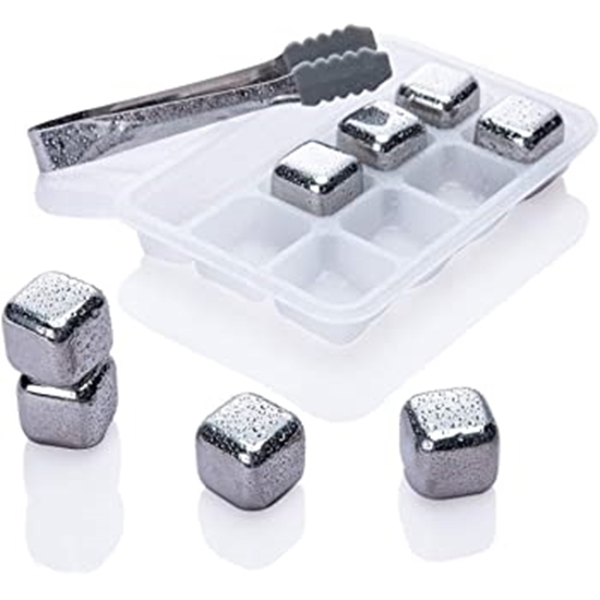 Picture of Stainless Steel Ice Cubes