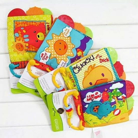 Picture of Carters Teether Cloth Book - 22 x 14 Cm
